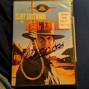 Hang em high  with Clint Eastwood